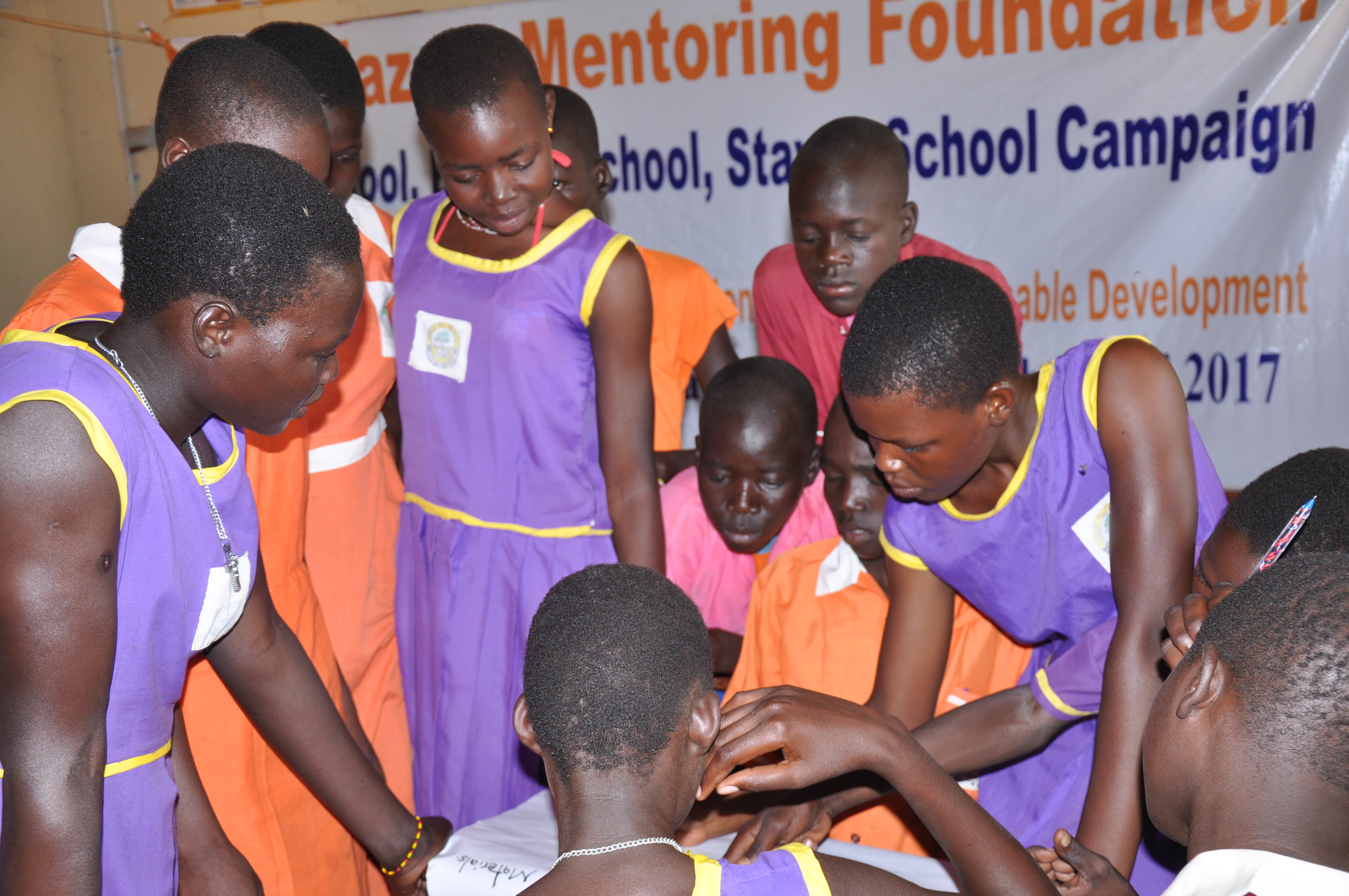<p>We recognize children as advocates, contributors to girls' education and hold duty bearers accountable for their decisions and actions</p>
